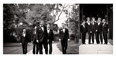 Groomsmen at Atlantis Pavilions Wedding