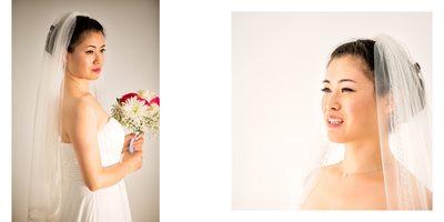Portraits of the Bride at Atlantis Pavilions Wedding