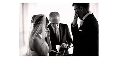Emotional Wedding Ceremony at Atlantis Pavilions