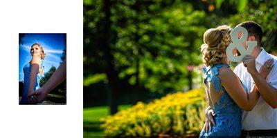 Engagement Photos in Toronto Botanical Garden