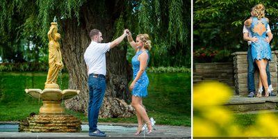 Engagement Photos Toronto Botanical Garden