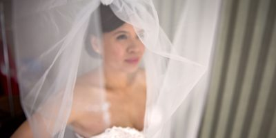 Bridal Portrait at Toronto Botanical Garden Wedding
