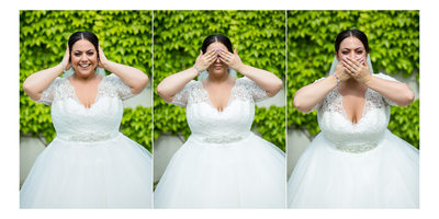 Funny Portraits of the Bride