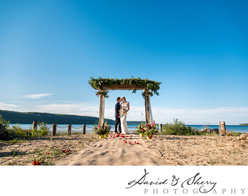 Private Cottage Wedding Photos Muskoka