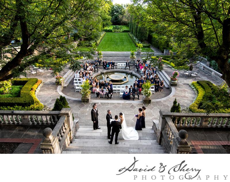 Graydon Hall Manor Outdoor Ceremony