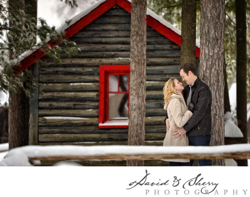 Barrie Winter Engagement Photos