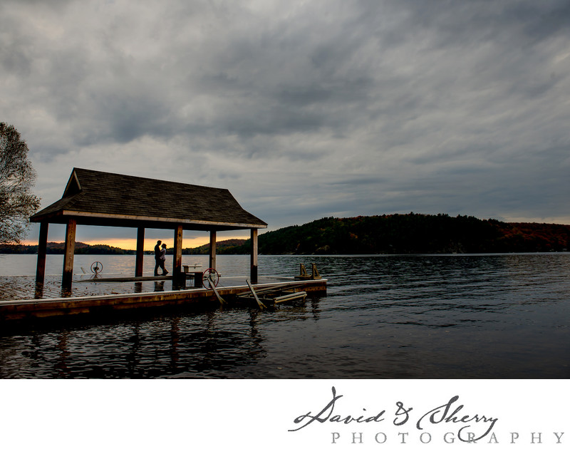 Muskoka Private Cottage Engagement Photos