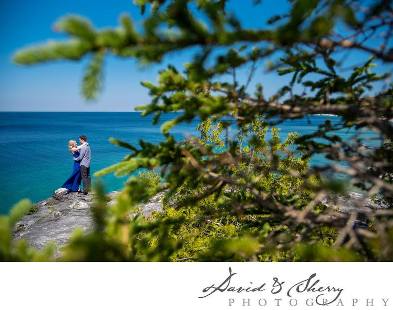 Bruce Peninsula Engagement Photography