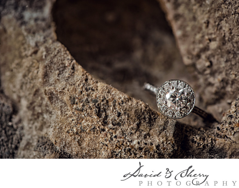 Wedding Ring Detail Photos