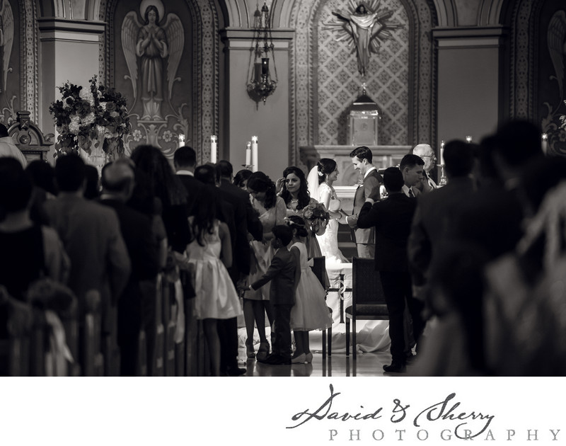 Toronto Catholic Wedding Ceremony