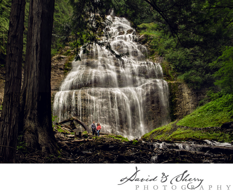 Bridal Falls Engagement Photos