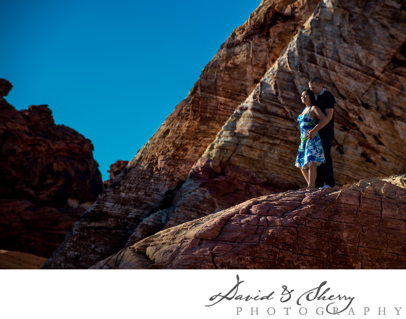 Valley of Fire State Park Pre Wedding Photos