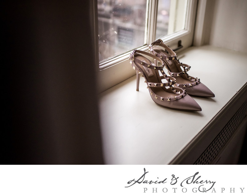 Valentino Pink Wedding Shoes