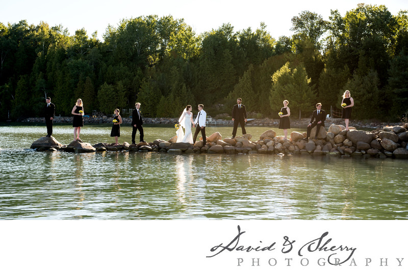 Waterfront Weddings in Ontario