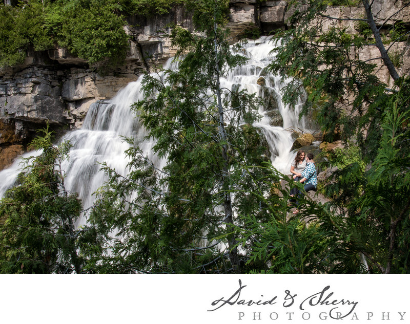 Inglis Falls Engagement Photos Owen Sound