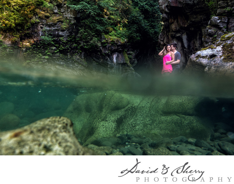 Othello Tunnels Engagement Photos