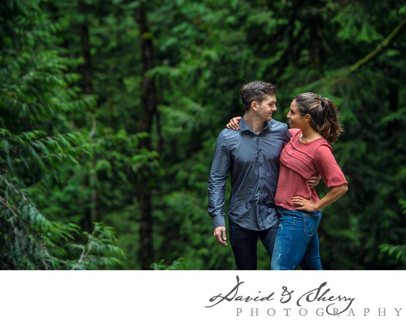 Cultus Lake Engagement Photos