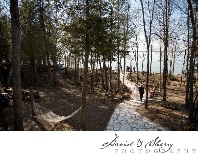 Summer Wedding at Serenity Cottage