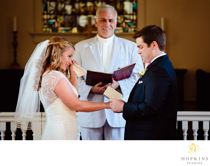 Whitefield Chapel Wedding in Savannah