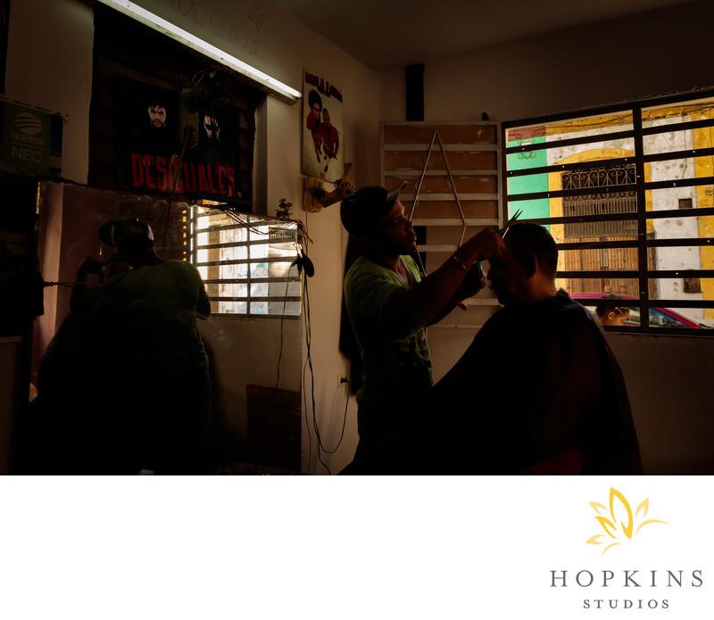 Havana Cuba Barbershop