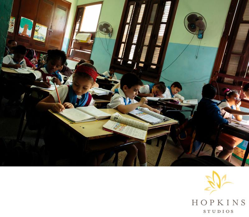 Classroom in Havana Cuba