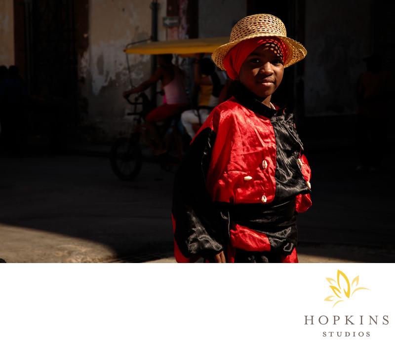 Santeria Dancer in Havana
