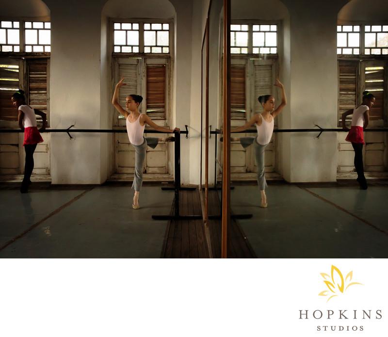 Laura Alonso Ballet Class Havana