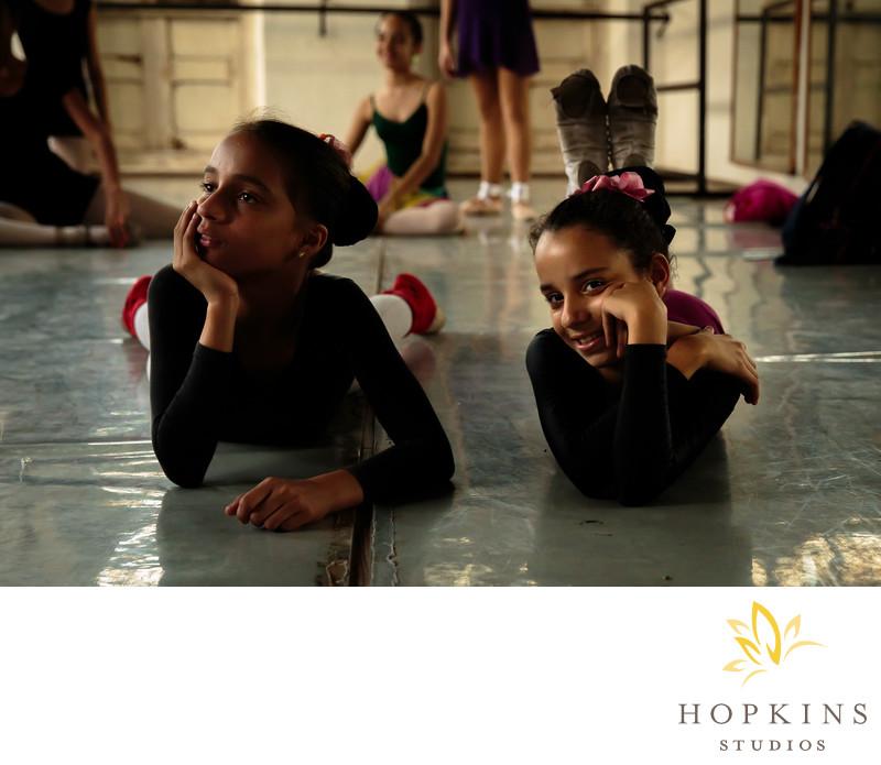Havana Cuba Ballet Students