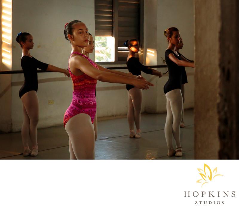 Laura Alonso Ballet School Class