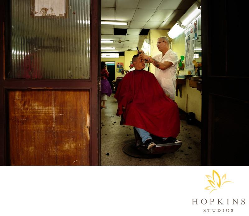 La Reina Barber Shop Havana