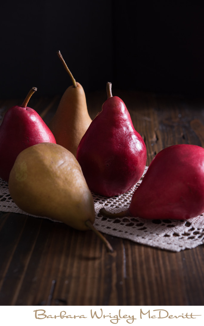 Bosch Pears and Red Pears