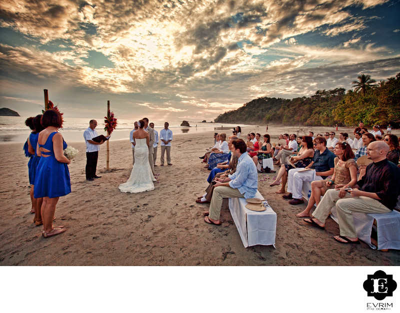 Manuel Antonio National Park Costa Rica Wedding