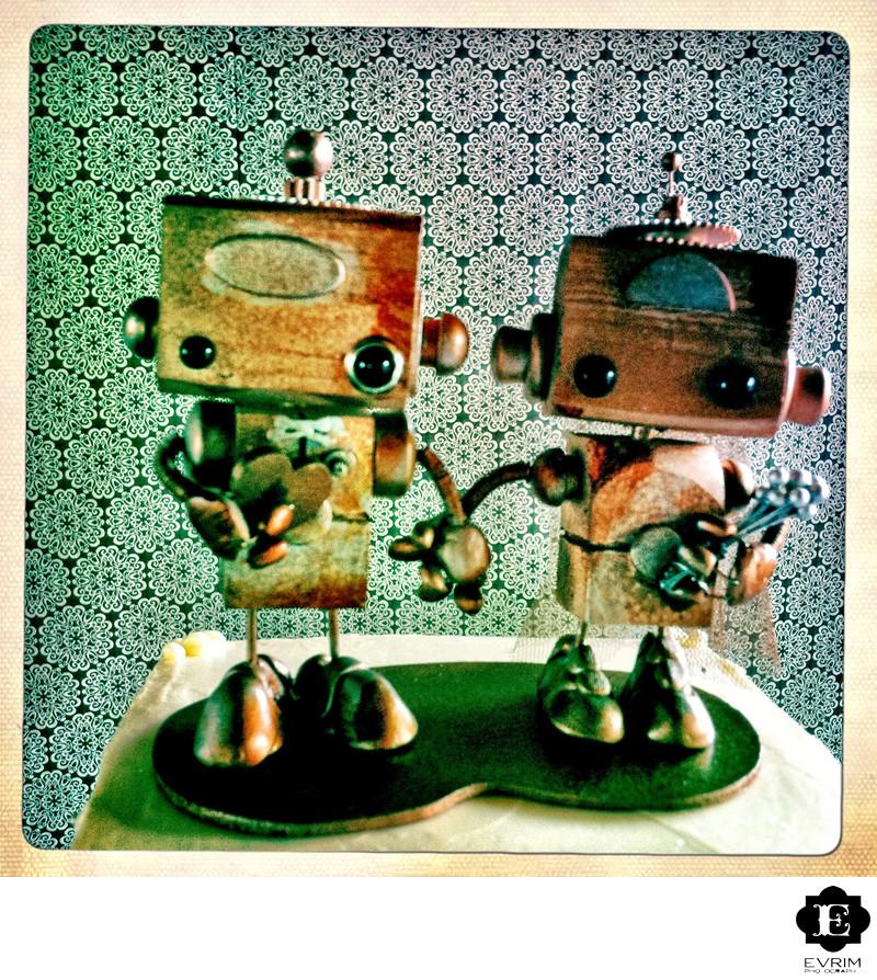 Robot Cake Topper