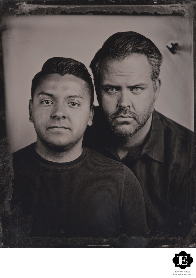 Analog Photographer Tintype Wet Plate Collodion