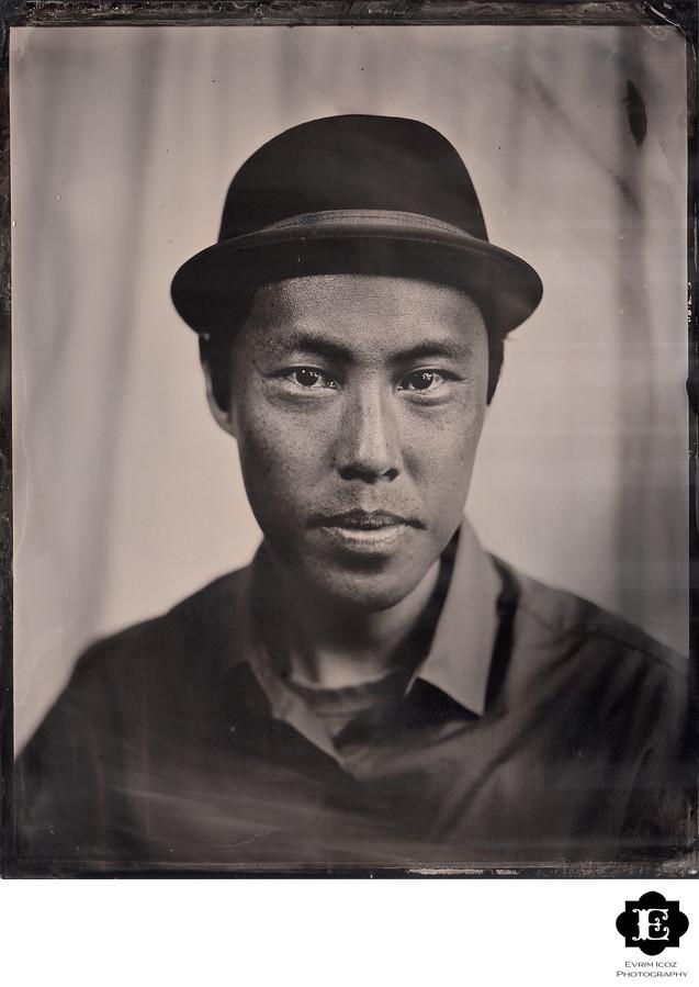 Portland Tintype Portrait
