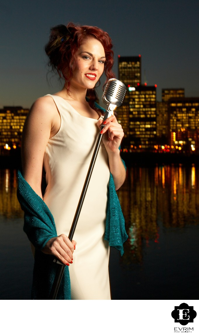 Portland Musician Singer Headshot Photographer.