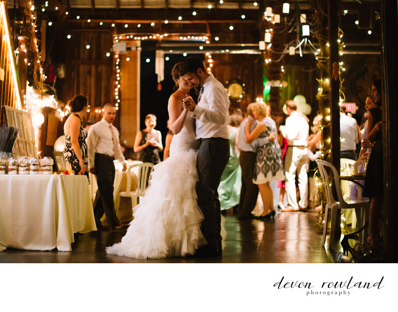 Ostertag Vistas Pic of Newlywed Couple Dance