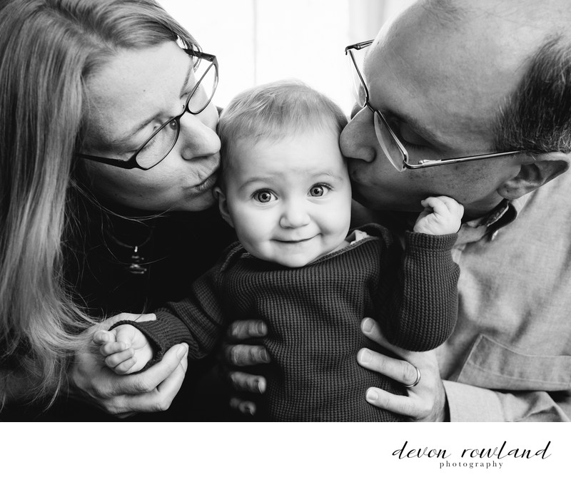 DC Family Photographer Toddler Grinning