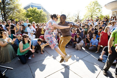 Swing Dance Photography at DCLX Dupont Circle