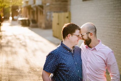 Washington DC Same-Sex Couple Celebrate Engagement