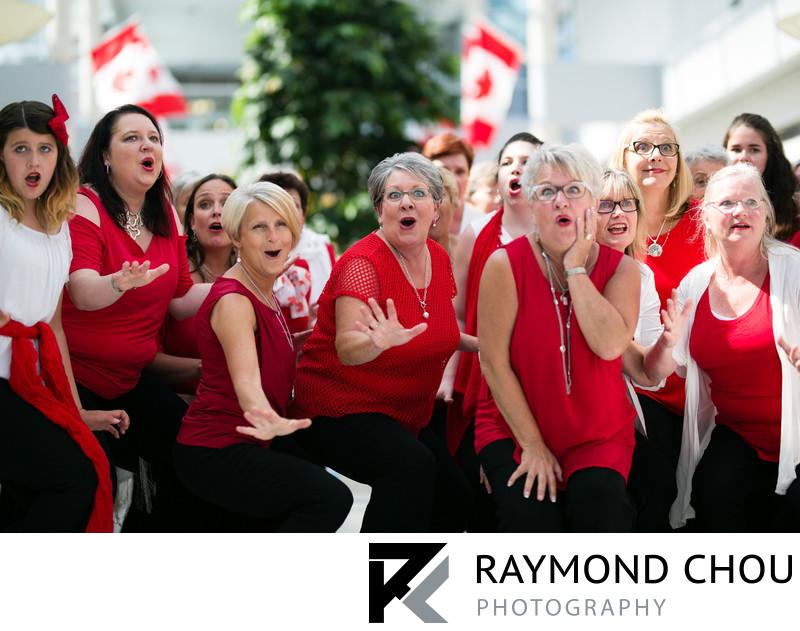 QuadReal Choir Performance