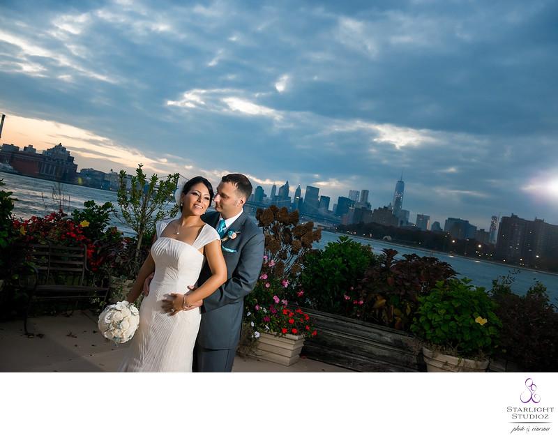 Giando's on the Water Wedding Sunset