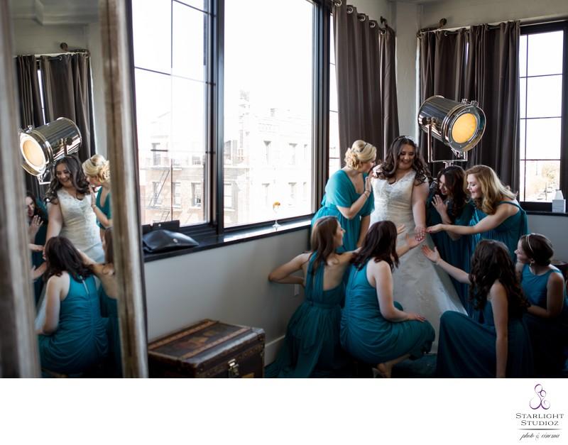 Paper Factory Hotel Wedding Photographer