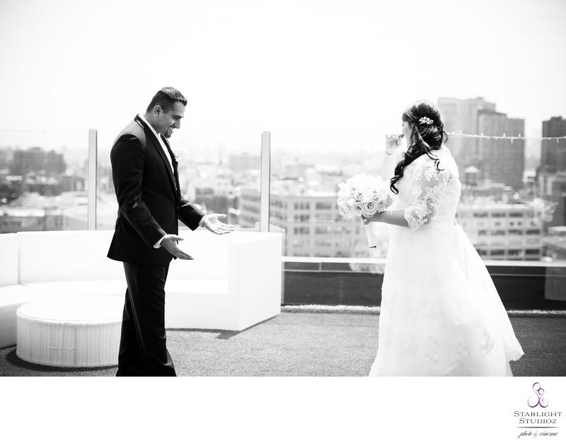 Z Hotel Rooftop Wedding Photos