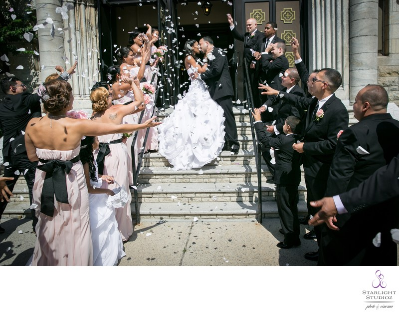 Queens Church Wedding Photos