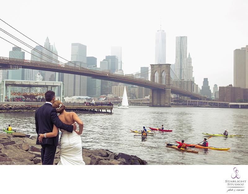 Brooklyn Bridge Wedding Photos