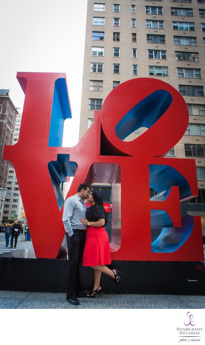 Manhattan Engagement Photos