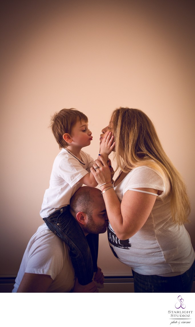 Family Maternity Photos NY