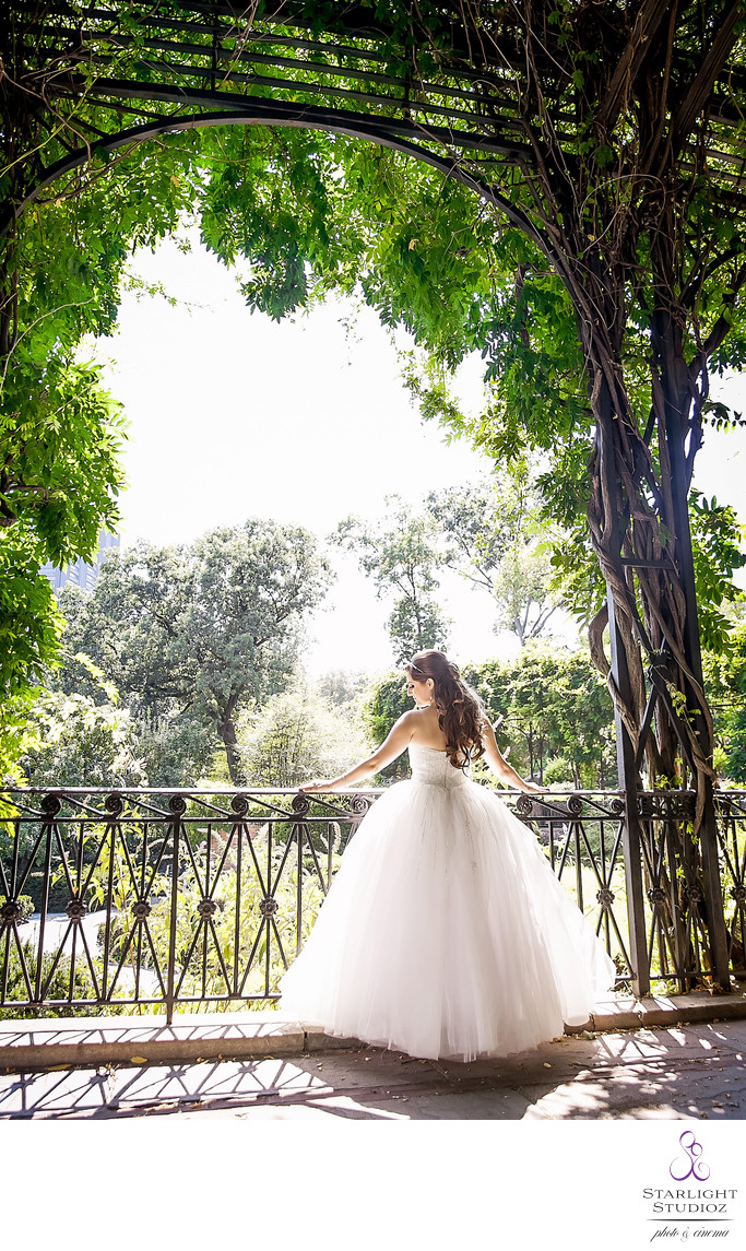 Conservatory Gardens Wedding Photographer