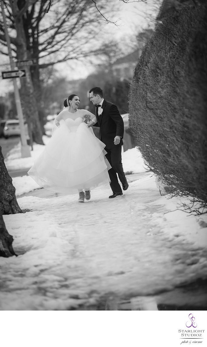 NY Winter Wedding Photographer